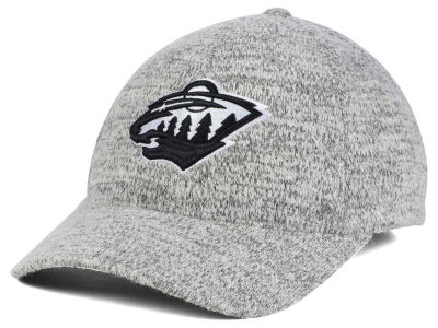 Minnesota Wild NHL Gray Duster Flex Cap