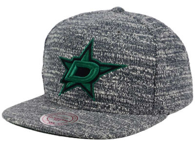 Dallas Stars NHL Gray Noise Snapback Cap