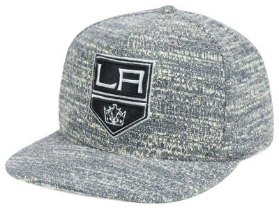 Los Angeles Kings NHL Gray Noise Snapback Cap
