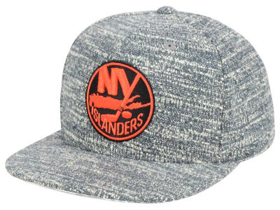New York Islanders NHL Gray Noise Snapback Cap