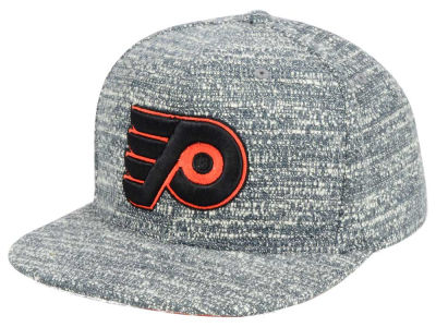 Philadelphia Flyers NHL Mitchell and Ness Gray Noise Snapback Cap