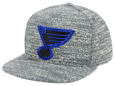 St. Louis Blues NHL Gray Noise Snapback Cap