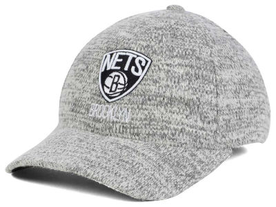 Brooklyn Nets NBA Gray Duster Flex Cap