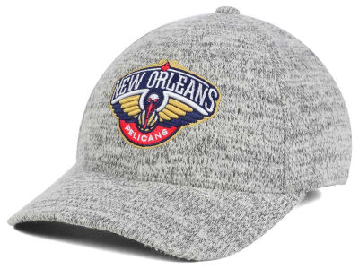 New Orleans Pelicans Mitchell & Ness NBA Gray Duster Flex Cap