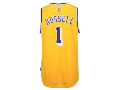 Los Angeles Lakers D'Angelo Russell adidas NBA Men's Hardwood Classic Swingman Jersey