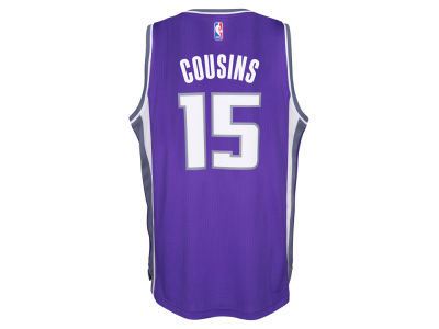 Sacramento Kings DeMarcus Cousins adidas NBA Men's New Swingman Jersey