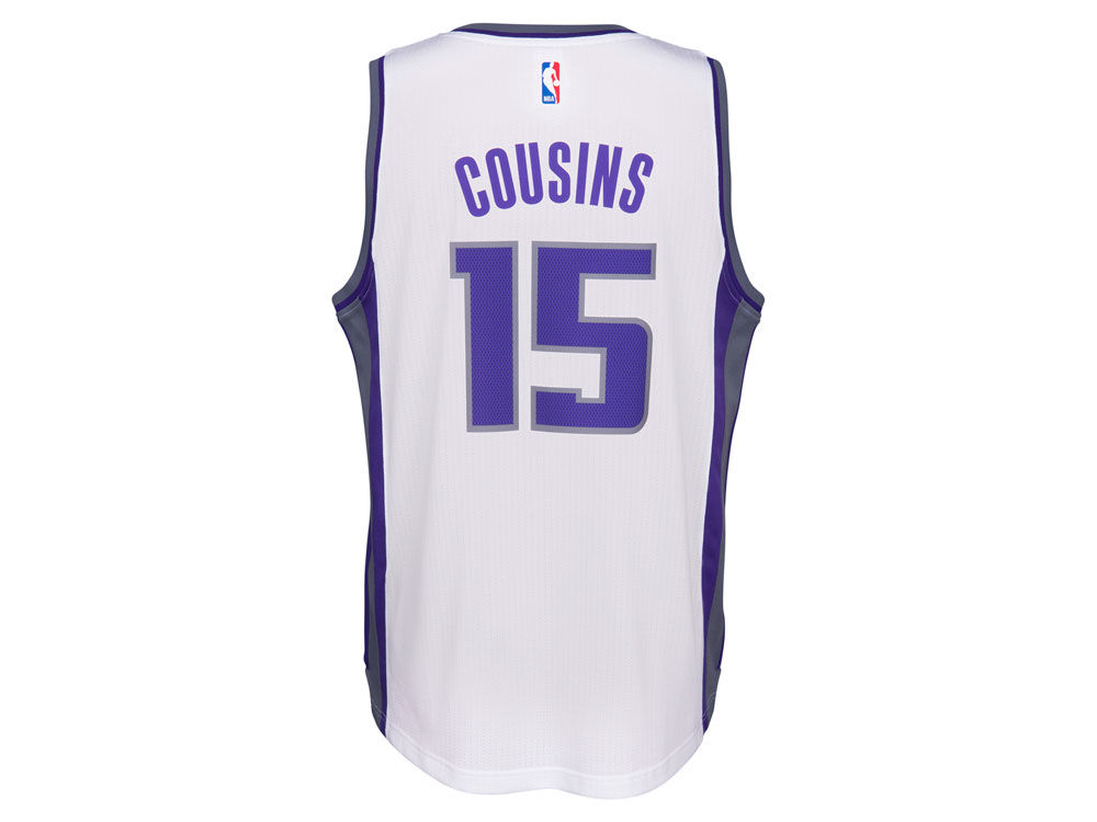 188aacc60 ... buy sacramento kings demarcus cousins adidas nba mens swingman jersey  a909e a2416