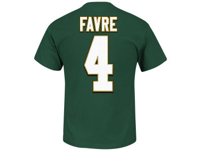 Green Bay Packers Brett Favre Majestic NFL Men's Hall Of Fame Eligible Receiver III T-Shirt