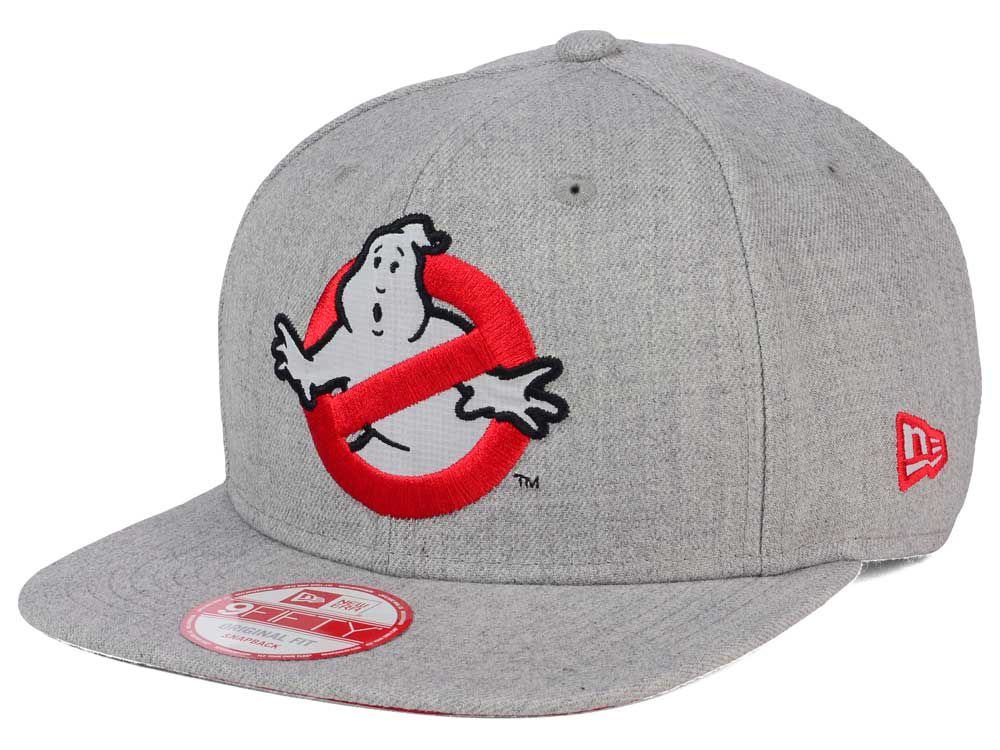 Ghostbusters Ghostbusters No Ghost Heather 9FIFTY Snapback Cap ... d4a577ce9528