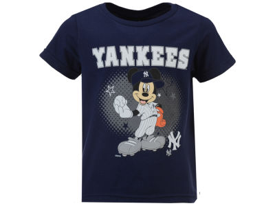 New York Yankees MLB Toddler Mickey Stars T-Shirt