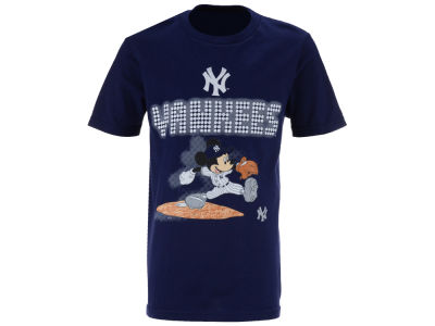 New York Yankees MLB Youth Mickey Lights T-Shirt