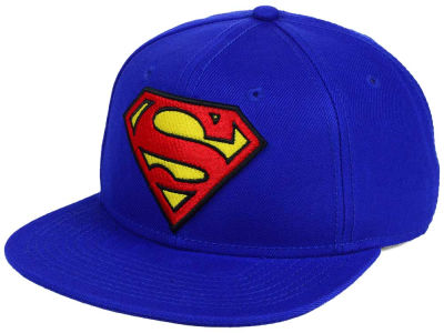 DC Comics Superman Logo Snapback Hat
