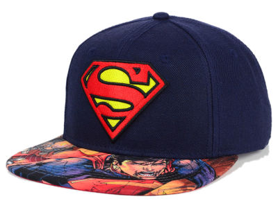 DC Comics Superman Charge Snapback Hat