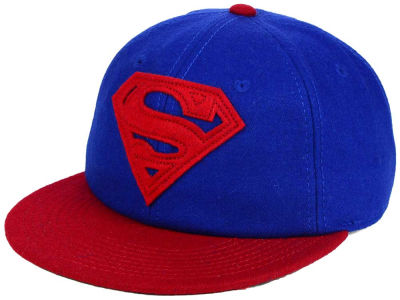 DC Comics Superman Wool Snapback Hat