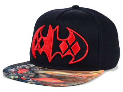 DC Comics Harley vs Batman Snapback Hat