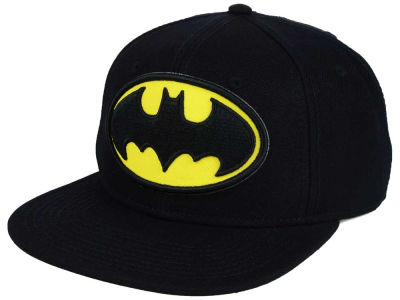 DC Comics Batman Side Logo Snapback Hat
