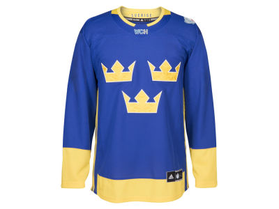 Sweden Hockey adidas Team Hockey Men's World Cup Of Hockey Premier Jersey