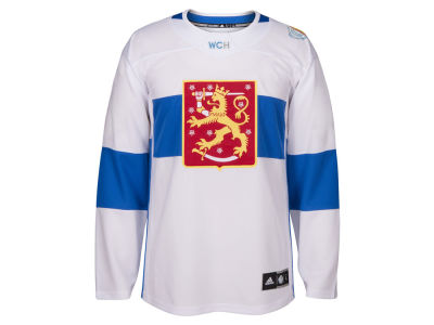 Finland Hockey adidas Team Hockey Men's World Cup Of Hockey Premier Jersey