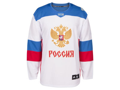 Russia Hockey adidas Team Hockey Men's World Cup Of Hockey Premier Jersey