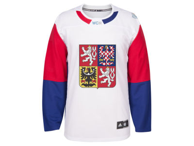 CZECH Hockey adidas Men's World Cup Of Hockey Premier Jersey