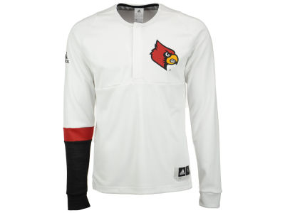 Louisville Cardinals adidas NCAA Men's Long Sleeve On Court Shooter Pullover
