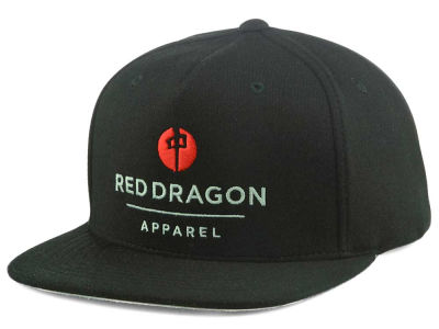 Red Dragon Skate Luxury Point Snapback Cap