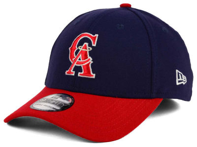 Los Angeles Angels New Era MLB Coop 39THIRTY Cap