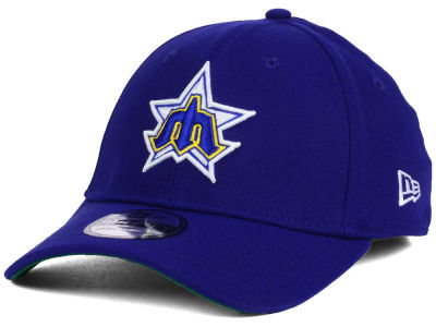 Seattle Mariners New Era MLB Coop 39THIRTY Cap