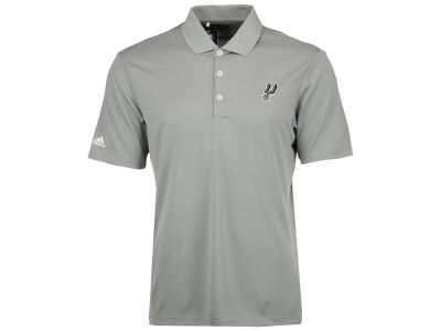 San Antonio Spurs adidas NBA Men's Performance Polo
