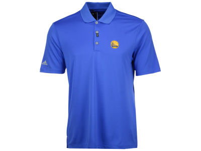 Golden State Warriors adidas NBA Men's Performance Polo