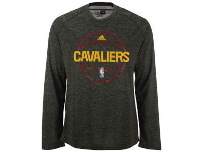 Cleveland Cavaliers adidas NBA Men's Climalite Pregame Long Sleeve T-Shirt