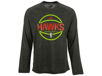 Atlanta Hawks adidas NBA Men's Climalite Pregame Long Sleeve T-Shirt