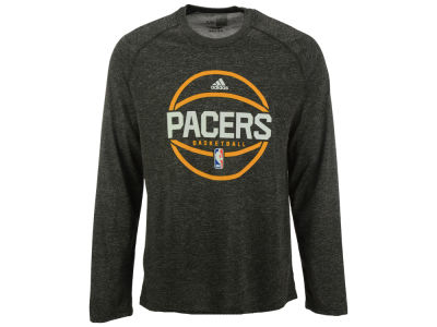 Indiana Pacers adidas NBA Men's Climalite Pregame Long Sleeve T-Shirt