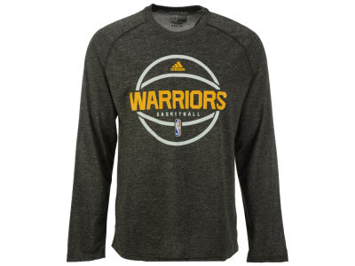 Golden State Warriors adidas NBA Men's Climalite Pregame Long Sleeve T-Shirt