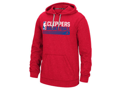 Los Angeles Clippers adidas NBA Men's Full Primary Logo Climalite Hoodie