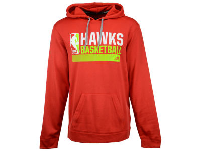 Atlanta Hawks adidas NBA Men's Full Primary Logo Climalite Hoodie