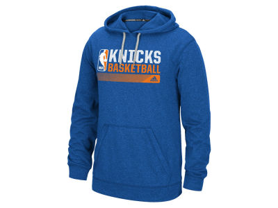 New York Knicks adidas NBA Men's Full Primary Logo Climalite Hoodie