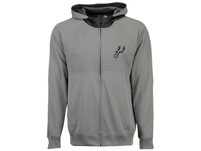 San Antonio Spurs adidas NBA Men's Pre Game Full Zip Hooded Jacket