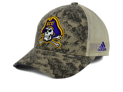 East Carolina Pirates adidas NCAA Camo Sideline Snapback Cap
