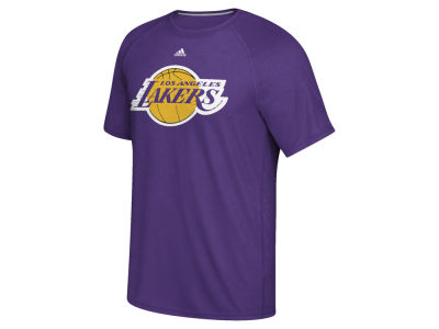 Los Angeles Lakers adidas NBA Men's Huge Preferred Climalite T-Shirt