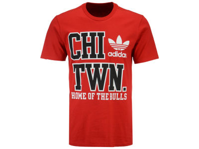 Chicago Bulls adidas Originals NBA Men's Originals City Stack T-Shirt