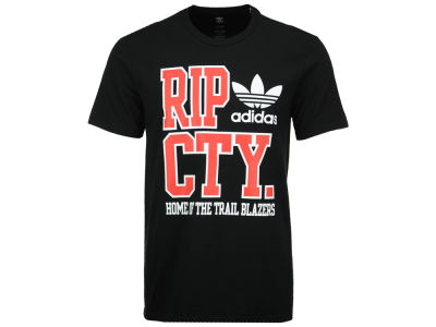Portland Trail Blazers adidas Originals NBA Men's Originals City Stack T-Shirt