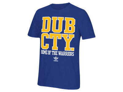 Golden State Warriors adidas Originals NBA Men's Originals City Stack T-Shirt