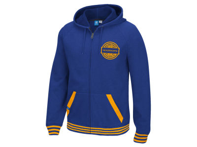 Golden State Warriors adidas Originals NBA Men's Originals Full Zip Hoodie