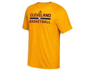 Cleveland Cavaliers adidas NBA Men's On Court Graphic Climalite T-Shirt