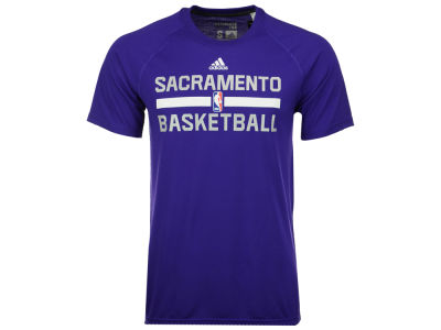 Sacramento Kings adidas NBA Men's On Court Graphic Climalite T-Shirt