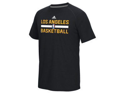 Los Angeles Lakers adidas NBA Men's On Court Graphic Climalite T-Shirt