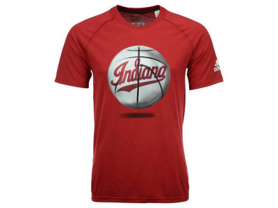 Indiana Hoosiers adidas NCAA Men's Logoball T-Shirt