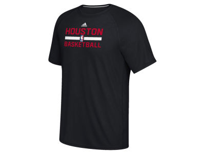 Houston Rockets adidas NBA Men's On Court Graphic Climalite T-Shirt