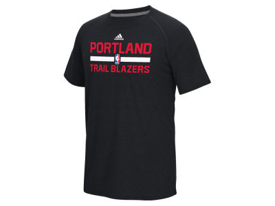 Portland Trail Blazers adidas NBA Men's On Court Graphic Climalite T-Shirt